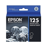 EPSON #125 BLACK PRINTER INK T125120
