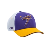 Purple/Gold and White Golden Hawk Hat