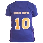 Personalized Ladies Twill Football Jersey