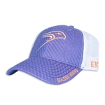 "Purple Woven ""We are Hawks"" Hat"