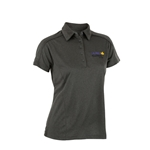 Ladies Alumni Char Melange Golf Shirt