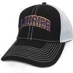 Black/white Laurier Mesh Hat