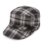 Ladies Black/White Hawk Brim Cap