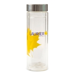 Inspiring Lives Glass Water Bottle