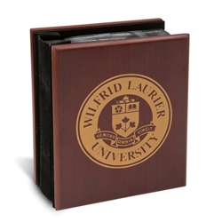 Crested Mahogany Photo Album