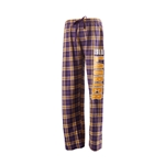 Purple & Gold Plaid Pant