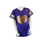 Girls Big Heart Tee
