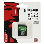 KINGSTON 8GB SD HC CLASS 10 SD CARD
