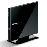 ASUS EXTERNAL DVD-RW BLACK USB 2 VERTICAL