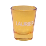 Gold Cathedral Shot Glass