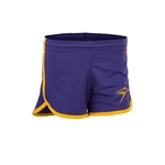 Ladies Purp/gld Sport Short
