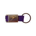 Purple Webbed Laurier/Hawk Key Tag