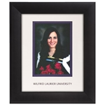 Infused Black 5X7 Portrait Frame