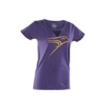 Ladies Notched Collar Tee