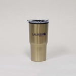 Gold Pacer Travel Tumbler