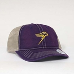 Purple Mesh Classic Hawk Hat