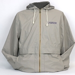 Khaki Hooded Rain Jacket
