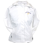 Ladies white Waterproof Jacket