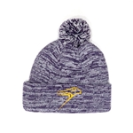 Purple Pepper Hawk Toque