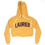 Gold Laurier Fleece Crop