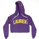 Purple Fleece Laurier Crop