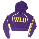 Purple WLU Cropped Hood