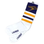 White Hawk Crew Sock