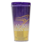16oz Purple/Gold Tritan Tumbler