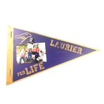 Laurier Wood Pennant Plaque