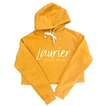 Cropped Laurier Golden Hawks Gold Hood