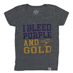 Final Sale Ladies Grey I Bleed Tee