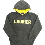 Final Sale Ladies Char/yellow Laurier Hood