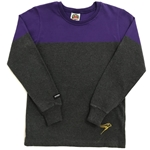 Final Sale Purple/Coal Casual Crew