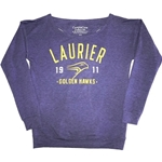 Final Sale Purple T-Back Pullover