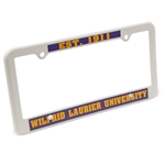 Laurier License Plate Frame