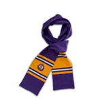 Purple/Gold Rugby Scarf