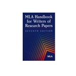MLA HANDBOOK FOR WRITERS OF RESEARCH PAPERS 7TH