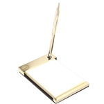 Brass Notepad and Pen Set