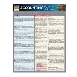 Accounting Equations and Answers