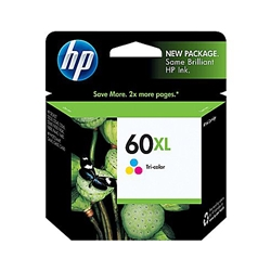 HP 60XL TRI COLOUR PRINTER INK