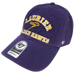 Final Sale Owen Purple Clean-up Hat