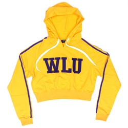 Cropped WLU Gold Hood